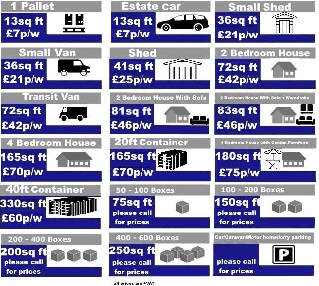 Swindon Storage Storage Calculator How Much Storage